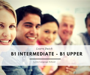 dutch-language-school-utrecht Course: B1 Intermediate - B1 Upper